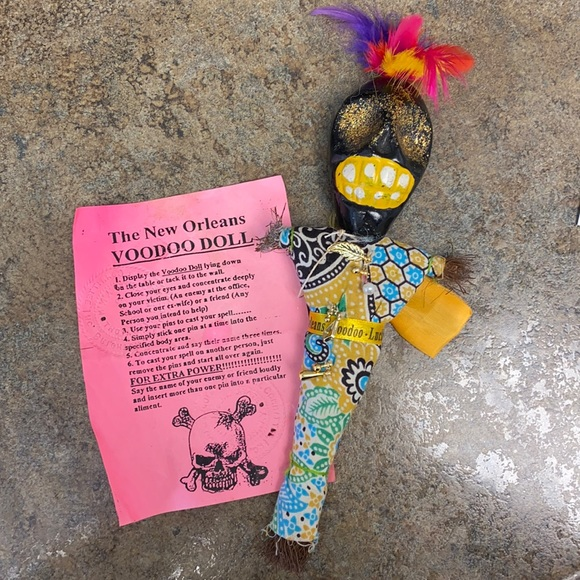 The New Orleans VOODOO DOLL